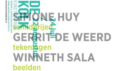 24 juli t/m 22 augustus 2021 | WINNETH SALA, GERRIT DE WEERD, SIMONE HUY
